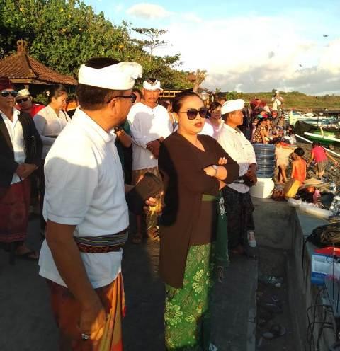 Bupati Eka Tinjau Langsung Persiapan Festival Yeh Gangga