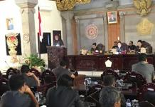 5 Fraksi DPRD Tabanan Sampaikan Pandangan Umum Terhadap Empat Ranperda