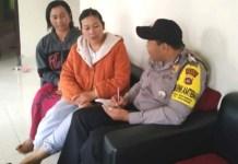Polisi Datangi Wanita Penjual Canang