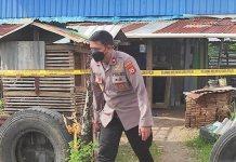 rumah terduga teroris di Makassar