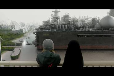 Screenshot of one of the short films from 2097: We Made Ourselves Over by Blast Theory. Source: Blast Theory.
