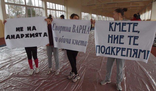 И варненските деца обичат Кирил Йорданов. Снимка: БГНЕС