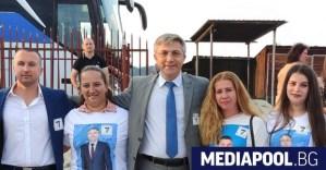 Piejewski, с когото PDM няма нищо общо, е част от кампанията на партията.