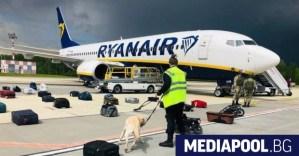 Пилотът на изпуснатия самолет нямаше друг избор, освен да кацне в Минск.