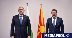 Заев не е съгласен с Радев: Северна Македония е пример!