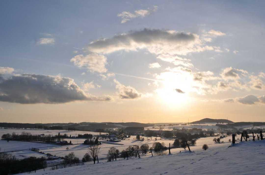 Un soir d'hiver - Portfolio de Francis Gengoux