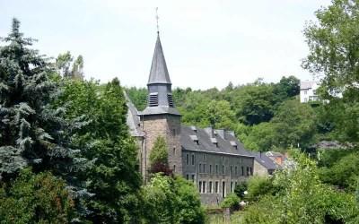 L'église Sainte-Catherine, à Houffalize