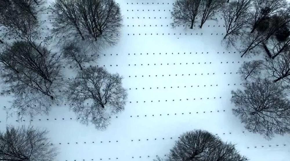 Le cimetière militaire de Recogne – Vidéo
