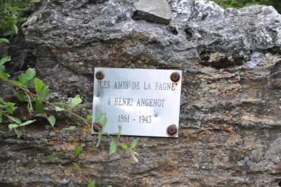 Les Amis de la Fagne à Henri Angenot