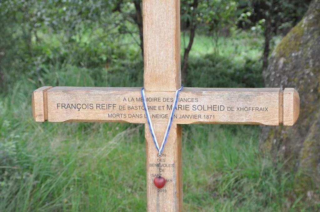La croix des fiancés de la Fagne version 2019