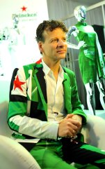 Mark Van Iterson, Global Head Design of Heineken present at day 4 of the Heineken Lagos Fashion and Design Week 2017