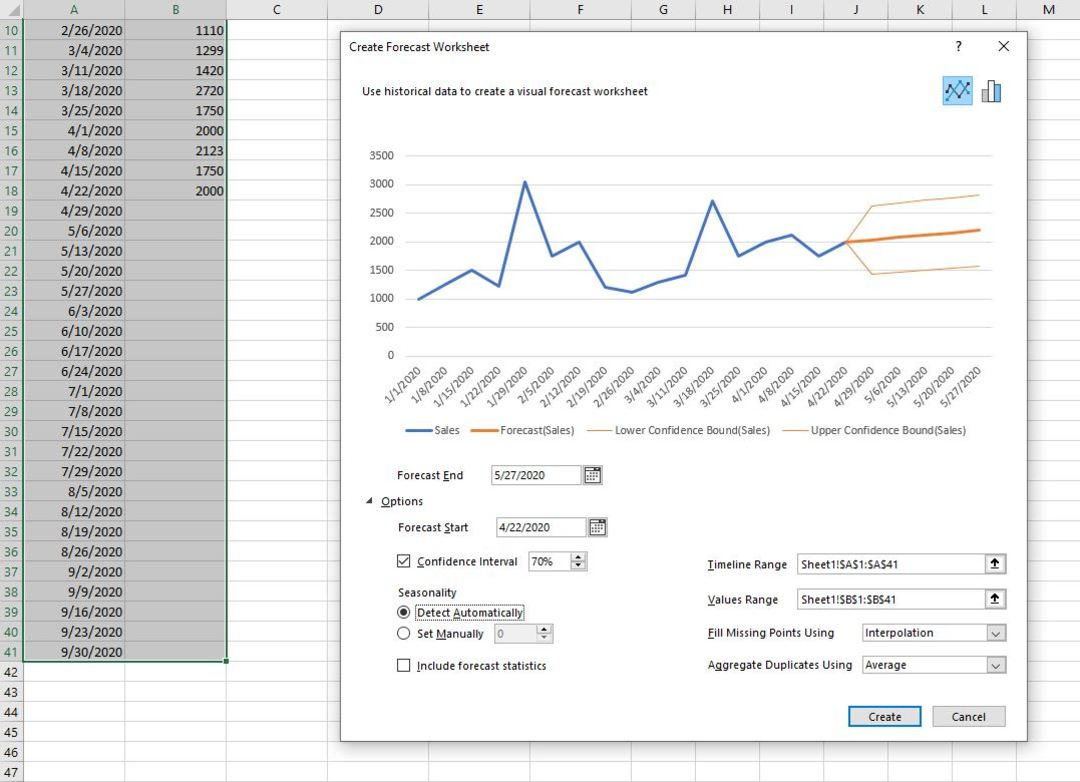 Excel screenshots.