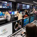La chaîne olympique en action