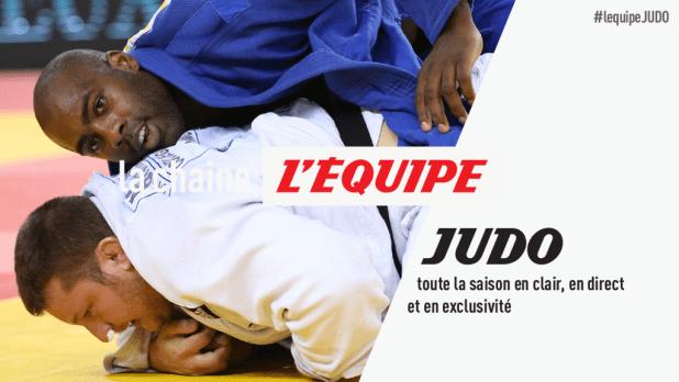 La chaîne L'Équipe, diffuseur du judo