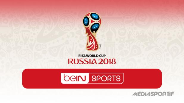 illustation coupe du monde 2018 bein sports blanc