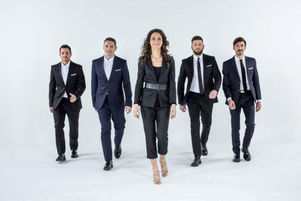David Dumain, Randy de Puniet, Marina Lorenzo, Laurent Rigal, Louis Rossi