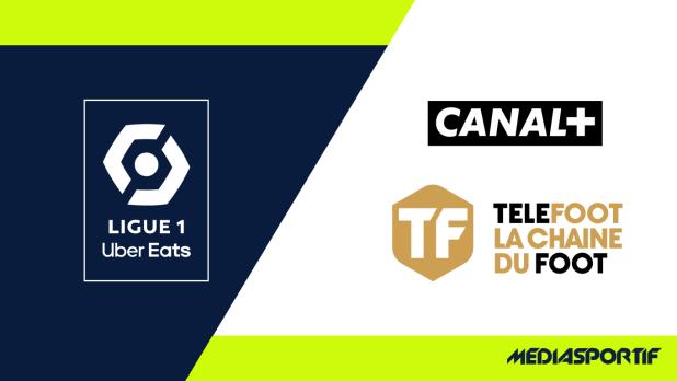 logo Ligue 1 sur canal+ et téléfoot