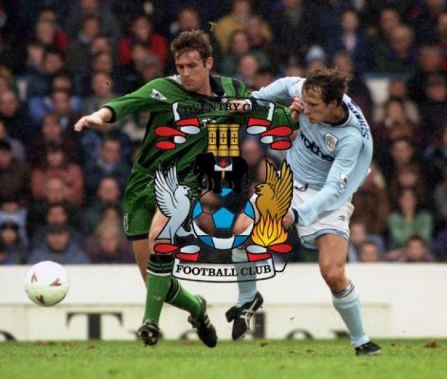 Fa Carling Premiership Manchester City V Coventry City Maine Road