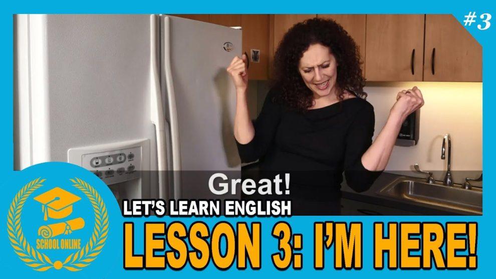 Ayo Belajar Bahasa Inggris Bersama VOA, Lesson 3: I'm Here!