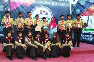 MA JII Bantimurung Raih Juara I Lomba Video Jurnalistik dan Parade Bendera Tingkat Madrasah