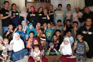 PT Persada Bagi Kebahagiaan dengan Anak Panti Asuhan
