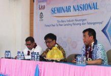 Seminar Nasional dan Launching Pojok Ekonomi Digital di UIN Alauddin Makassar