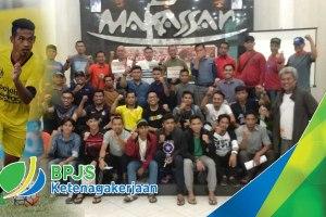 Berlaga di Walikota Cup IV, Pemain Persada FC dilindungi BPJS Ketenagakerjaan