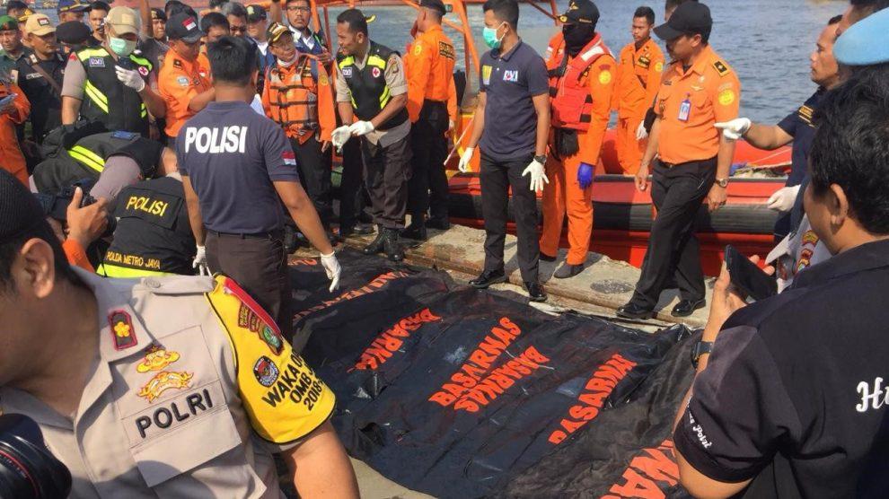 Update Lion Air JT 610: Total 164 Kantong Jenazah Dievakuasi