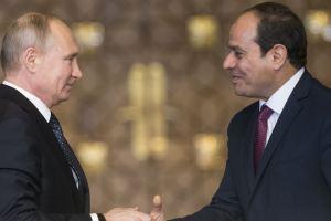 Rusia-Mesir Jalin Kesepakatan Kemitraan
