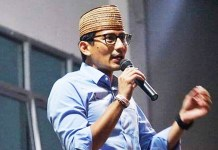 Sandiaga Uno Enggan Merespons Pernyataan Jokowi Soal Politikus Sontoloyo