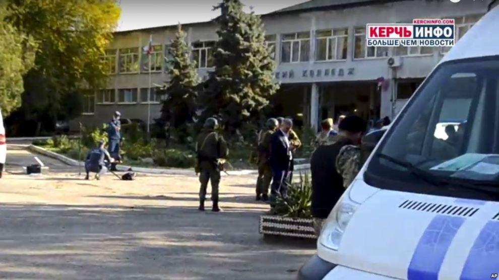 Korban Tewas Serangan di Sekolah Teknik Krimea Naik Jadi 19 Orang