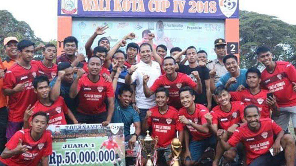 Turnamen Sepak Bola Wali Kota CUP IV 2018 Resmi Ditutup