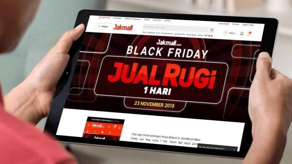 Jakmall.com BLACK FRIDAY, Tawarkan Satu Hari Jual Rugi untuk Masyarakat Indonesia