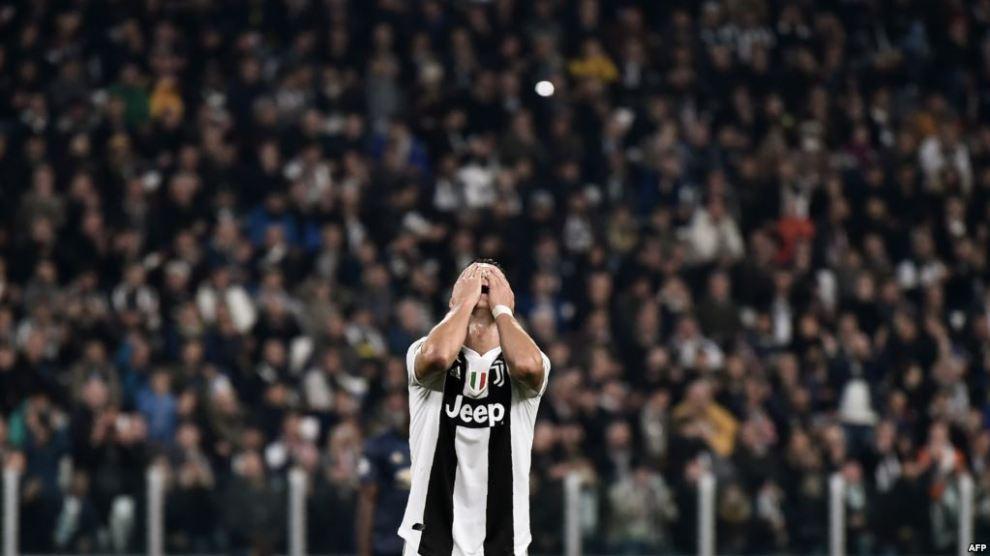 Ronaldo Frustrasi Juve Beri Kemenangan untuk Man United
