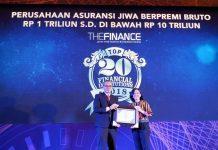 Sequis Life Raih Penghargaan Top 20 Financial Institutions 2018