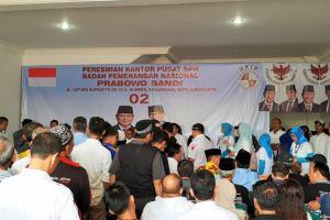 Prabowo-Sandi Dirikan Dua Posko Pemenangan di Kandang Banteng