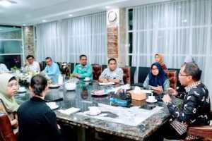 Tim Unicef Indonesia Sambangi Kediaman Wali Kota Makassar