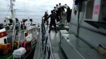 VIDEO: Detik-detik Kapal Patroli TNI di Tabrak Kapal Vietnam