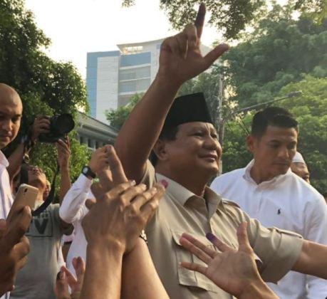 Hasil Quick Count dan Exit Poll Internal BPN, Prabowo Sandi Menang 55,4%