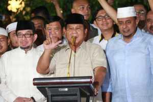 Prabowo-Sandiaga Deklarasi Sebagai Pemenang Pilpres 2019-2024