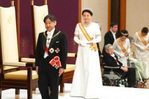 Kaisar Naruhito Secara Resmi Duduki Singgasana Krisantemum