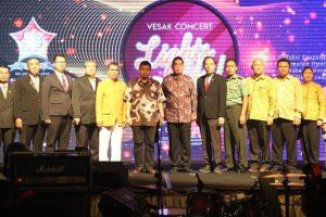 Pj Walikota Makassar Apresiasi Perayaan Konser Spiritual Permabudhi Sulsel
