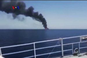 AS Tuduh Iran Serang Dua Kapal Tanker dekat Selat Hormuz