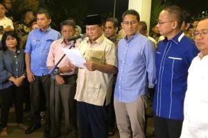 Prabowo: Kami Kecewa, Tapi Tetap Hormati Putusan MK