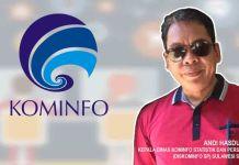 Andi Hasdullah-Kadis Kominfo SP Sulawesi Selatan