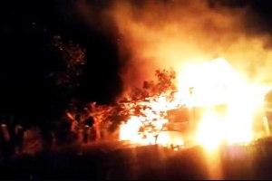 Ditinggal Shalat Magrib, Satu Rumah Panggung di Pangkep Terbakar