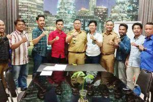 Jelang Pelantikan, DPK KNPI Bersilaturahmi dengan Camat Tamalate