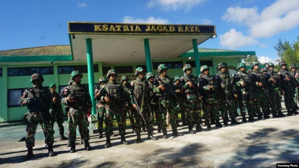 Prajurit TNI Korban Penembakan Nduga Dievakuasi
