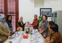 Pj Ketua Dekranasda Makassar Sambangi Kantor Dekranasda Kota Semarang