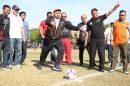 Tendangan Kick Off Iqbal Awali Gala Karya Zona Sulsel 2019